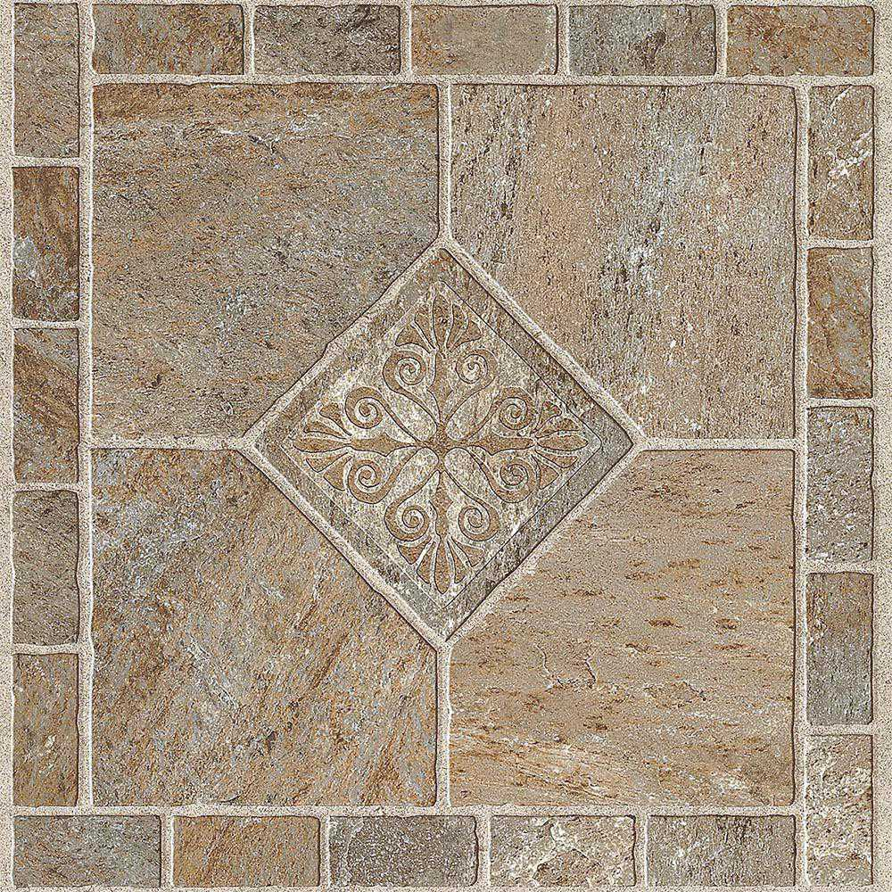 ARMSTRONG PEEL N' STICK TILE 12 IN. X 12 IN. MULTICOLOR BRONZE 1.14MM (0.045 IN.) / 45 SQ. FT. PER CASE per 2 Case